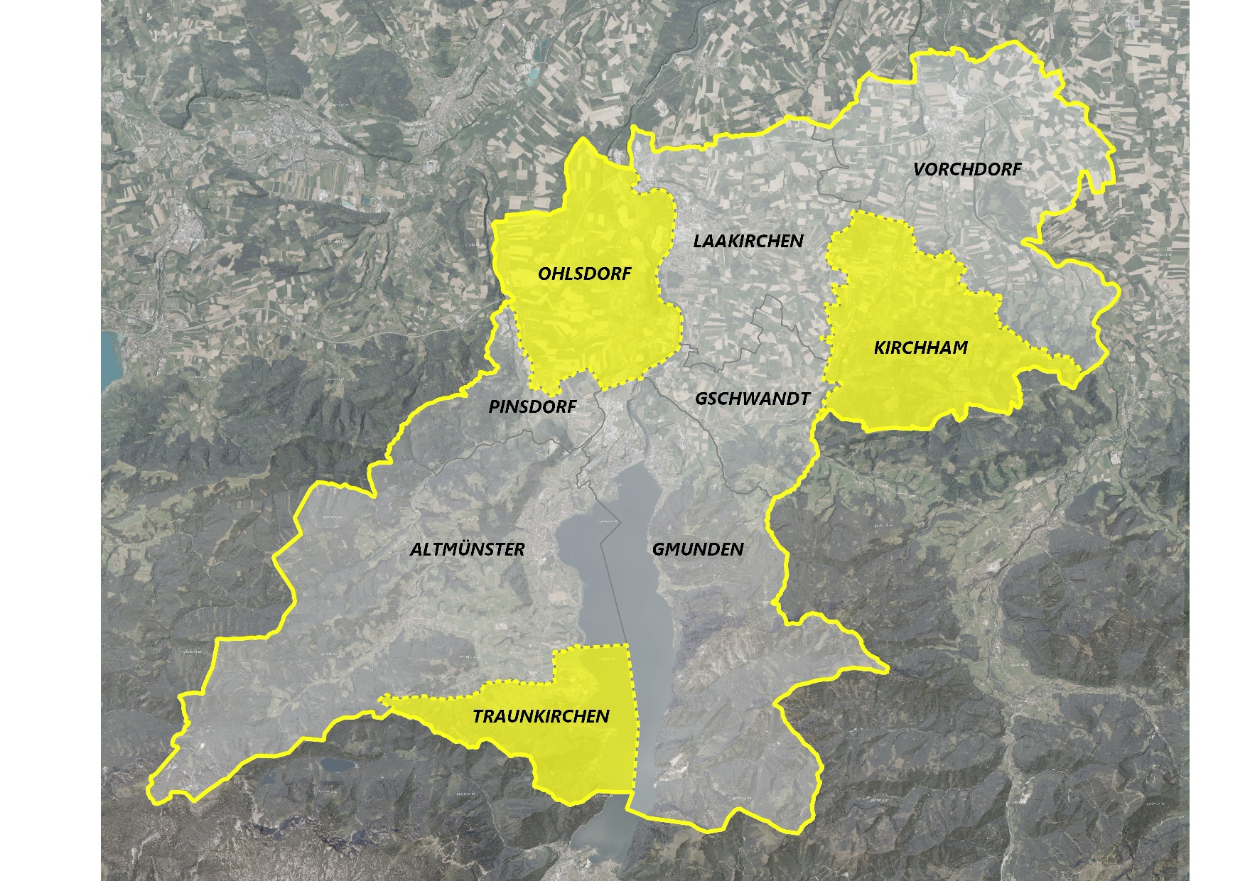 Übersicht neue Stadtregionsgrenzen A4